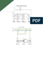 Diagrama de Apagador de Escalera y 4 Vias
