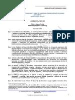 Codif Acuerdo 0053 13