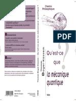 Qu'est-ce que la Mécanique Quantique - Vrin.pdf
