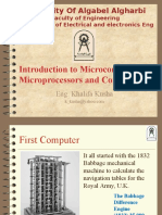 00 Introduction to Microcomputers and Microprocessors, Computer Codes, Programming, And Operating Systems