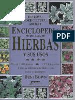 Plantas - Enciclopedia de Las Hierbas y Sus Usos