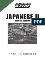 Japananese - 2 - Bklt