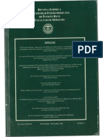 """Valenzuela-Alvarado, José-Enrico, """"El Contrato de Transacción en los Pleitos de Clase"""", XXXVII NÚM. I REV. JUR. U.I.P.R. 165 (2002)."""