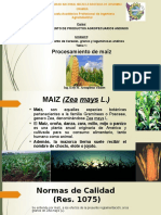 2.1 Procesamiento de Maiz