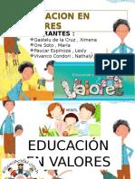 1 Educacion en Valores