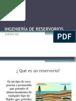 Ingeniería de Reservorios