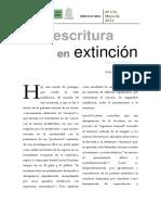 Teresa E. Cadavid - Una Escritura en Extinción