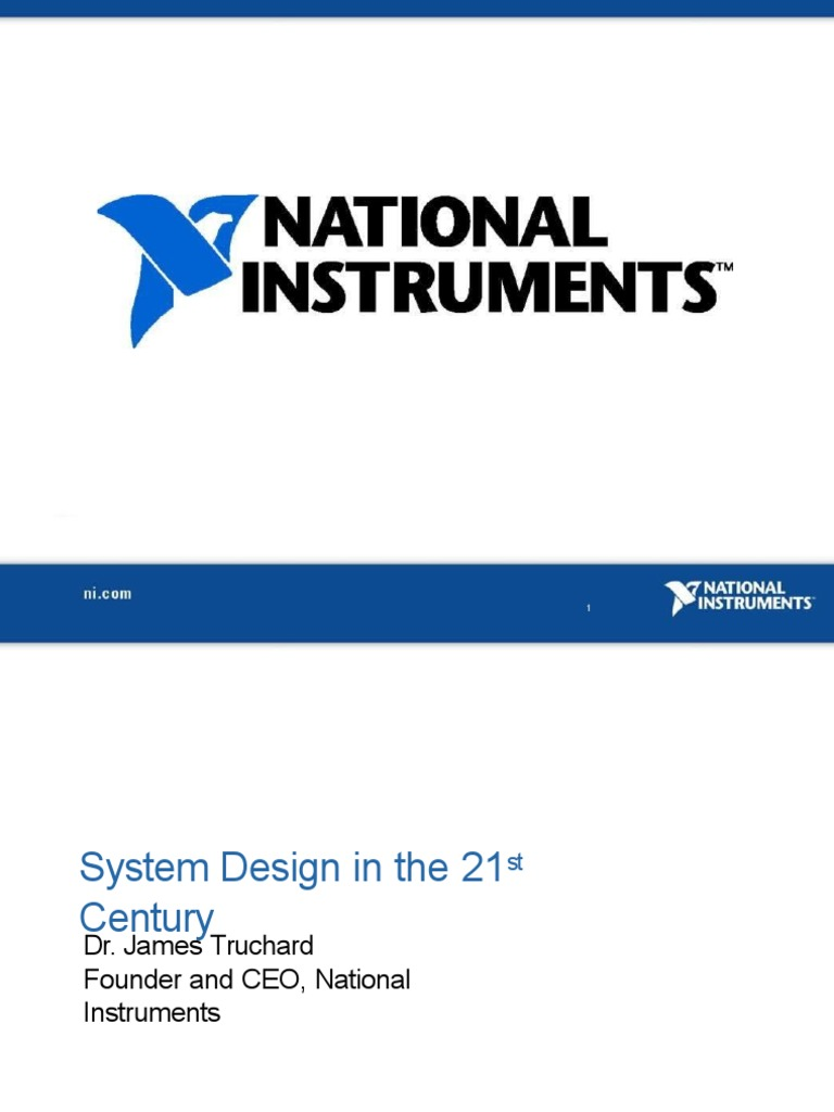Truchard Ceo System On A Chip Arm Architecture Build Hybrid Control With Ni Labview Statechart And