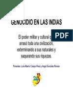 Genocidio en Las Indias- Febrero 2016 [Modo de Compatibilidad]