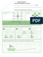 Taller de Matemática Movimientos en El Plano