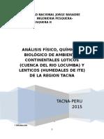 Informe Biocenocis Biología II