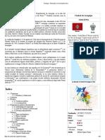 Arequipa - Wikipedia, La Enciclopedia Libre