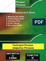 Adjective Phrases Grammar