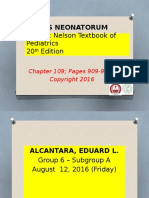 Sepsis Neonatorum Updated