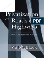 Privatize Roads