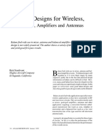 Balun Designs for Wireless - Mixers, Amplifiers and Antennas