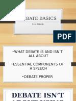 Debate 101