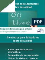 EDUCACION SEXUALIDAD
