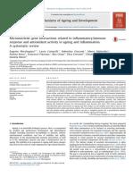 Nutrigenômica e Inflamação - Mocchegiani Et Al., 2014