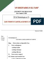 Tissus Cartilagineux Et Osseux
