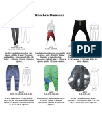 Pantalones Hombre Dismoda