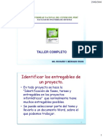 Curso Taller Ms Project