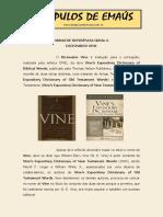 0066. DICIONÁRIO VINE DO NOVO E DO ANTIGO TESTAMENTO - Vine, Unger e White