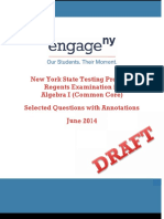 Math Common Core Regents Exam Annotated Items 2014