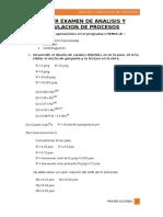 Primer Examen de Analisis y Simulacion de Procesos