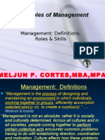 MELJUN CORTES's -  Principles of Management