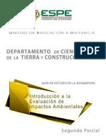 Introducción a La Evaluación de Impactos Ambientales