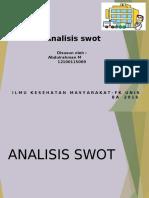 Analisis Swot Abdul