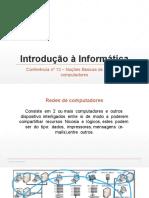 Conferência nº 13 - Redes de Computadores