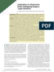 Bolden Perioperative Complications in Obstructive Sleep