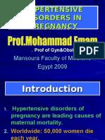 Hypertensive disorders on Pregnancy