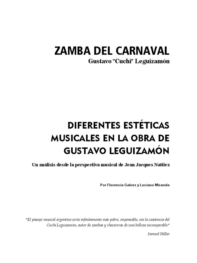Zamba Del Carnaval