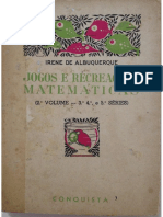 Jogos e Recreacoes Matematicas - Irene de Albuquerque