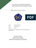 Laporan Praktikum GCMS