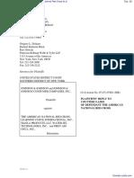 Johnson & Johnson et al v. The American National Red Cross et al - Document No. 28