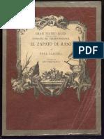 Paul Claudel- El Zapato Raso
