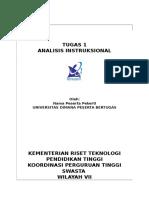 1 Analisis Instruksional