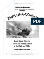 Krunch a Commie War Game for Cold War Era
