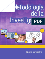Metodologia de La Investigacion (Mauricio Reyes Corona)