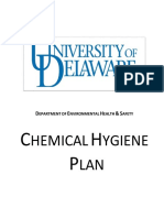 Chem Hygiene Plan