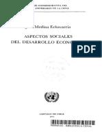 José Medina Echavarría- Aspectos sociales del desarrollo económico