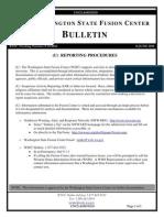 June 2010 Washington State Fusion Center Bulletin