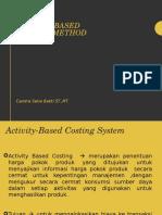 Kuliah 6 Activity Based Costing Method