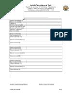 Ittepic Ac Po 007 08 Registro Asesoria Residencias Profesionales