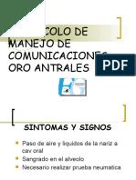 Protocolo Manejo Comunicaciones Oro Antrales