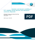 Improved Discretisation Dynamic Modelling Co2 Solubility During Injection Subsequent Convective Dispersion